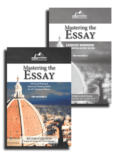 Mastering the Essay: AP European History Edition - Print Combo