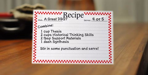 The recipe for a high-scoring essay? It's missing something.