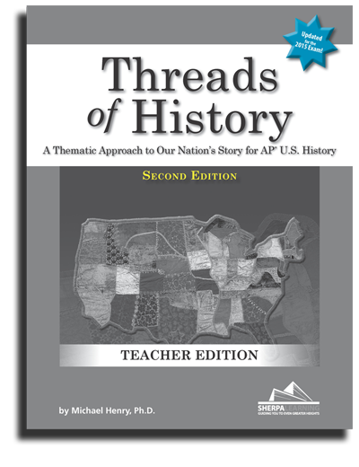Threads of History, 2nd Ed. Teacher's Companion Resource